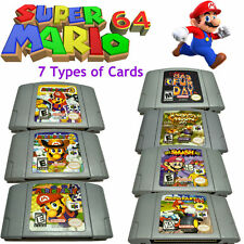 Super Mario Kart 64 Mario Party1 2 3 Game Card Cartridges For Nintendo 64 N64