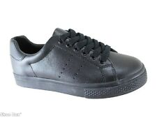Human Finn Kid's Leather Upper Lace Up School Shoes AU