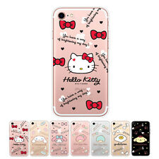 Hello Kitty Icon Cutie Jelly Slim Protect Bumper Cover Case For Apple iPhone 7