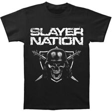 Slayer Men's  Slayer Nation T-shirt Black