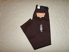 LEVI'S 501 RIGID SHRINK TO FIT ORIGINAL FIT JEANS MENS SIZE 33X32 BUTTON FLY NWT