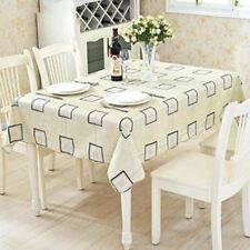 New Style Wedding Party Square Shape Decorative Table Cover Cloth