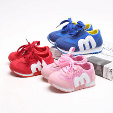 HOT KIDS SPORT RUNNING SHOCK ABSORBING BOYS GIRLS INFANTS LACE UP SHOES TRAINERS