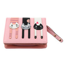 Ladies Womens New Designer Soft Leather Purses Credit Card Holder Wallets