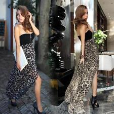New Women Sexy Chiffon Bustier Party Maxi Cocktail Evening Club Dress SYL6