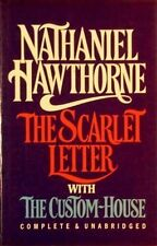 SCARLET LETTER WITH THE CUSTOM HOUSE BY NATHANIEL HAWTHORNE - HARDCOVER **NEW**