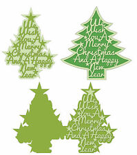 Robo Silhouette Studio SVG AI GSD WPC Script Christmas Word Tree Card and Topper