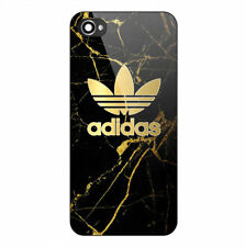 New Adidas Gold Logo Carbon Print Hard Plastic Case For iPhone 5s SE 6s 7 8 Plus