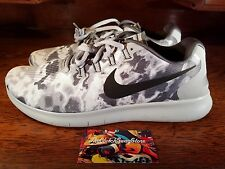 NEW Nike Free RN 2017 LE Mens Running Shoe Grey/Platinum All Sizes 883282-001