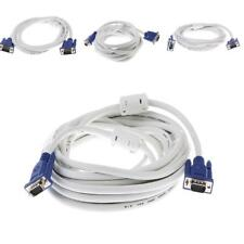 VGA 3+4 Male to Male Cable VGA Monitor Cord 15 Pin for PC Computer