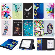 Owl Bear Giraffe PU Leather Tablet Case for Amazon Kindle Paperwhite Fire 7 HD 8