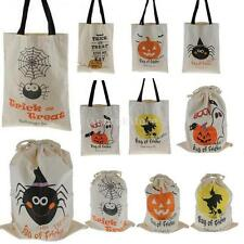 Halloween Trick Or Treat Sweet Candy Pouch Bags Kids Party Treat or Trick