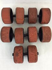 """Rubber Stamp Roller Wheels Stampin Around  Standard Size 1"""" Pattern YOU PICK"""