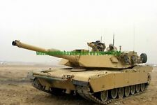 US Army M1-A1 Abrams Tank Color Photo Military Troops Soldier USMC Iraq 2007