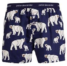 Peter Alexander Navy Polar Bear Boxer Short  Sz S, M,  XL NWT