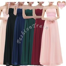 Elegant Women's Long Maxi Evening Cocktail Party Prom Bridesmaid Ball Gown Dress