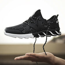 Men Sneakers Black Running Sport Joggers Sports Casual Summer Shoes Size 10 New