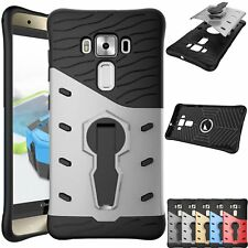 Hybrid Armor Touch Hard Case + Stand For Motorola Moto Z X C G3 G4 G5 Play Plus
