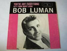 """Bob Luman - You've Got Everything / Let's Think About Living Vinyl 7"""" PS - Warne"""