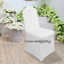 2/50/100 Chair Covers Spandex Lycra Wedding Banquet Anniversary Party Cover Deck