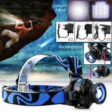 2000LM Zoomable CREE XML Q5 3Mode LED Rechargeable Head Torch Headlamp Headlight