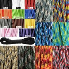 550 Paracord Parachute Cord Lanyard Mil Spec Type III 7 Strand Core100FT NEW PL