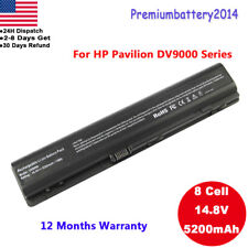 8/12 Cell Battery For HP/Compaq Pavilion DV9000 448007-001 416996-131 Laptop USA