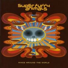 SUPER FURRY ANIMALS - Rings Around The World - 2 CD - **Like New / Mint**
