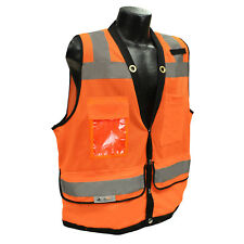 Radians SV59 Class 2 HiVis Orange Heavy Duty Surveyor Vest