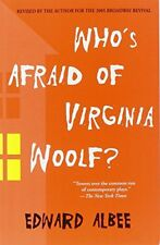 WHOS AFRAID OF VIRGINIA WOOLF REVISED BY AUTHOR By Edward Albee - Hardcover NEW
