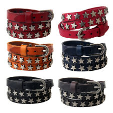 Men Women Fashion Punk Wrap Multilayer PU Leather Star Bracelet Jewelry Gift