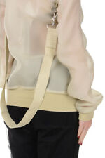 RICK OWENS new woman ALMOND Jacket silk Made in Italy NWT