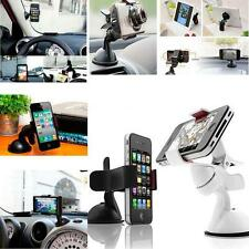 Universal Windshield Suction Clamp Car Mount Holder For Galaxy iPhone HTC LG GPS