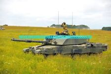 British Army Challenger 2 Main Battle Tank Military Color Photo Tanks Armor War