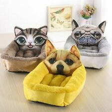 3D Realistic Pattern Pet Bed Soft Kennel Pet Mat Dog Beds for Small Dogs Cat Rab