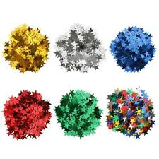 15g Star Table Confetti Christmas Wedding Birthday Party Scatter DIY 10mm 6mm