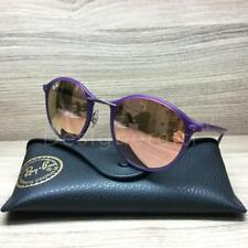 Ray Ban RB 4242 LightRay Sunglasses Purple 6034/2Y  Authentic 49mm