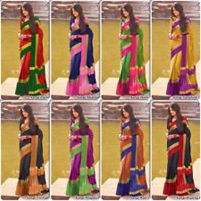 Indian Bollywood Style designer Saree wedding sari Traditional Wear ethnic 103