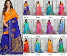 Indian Bollywood Style designer Saree wedding sari Traditional Wear ethnic 110