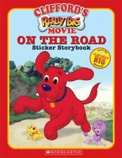 CLIFFORDS REALLY BIG MOVIE ON ROAD STICKER STORYBOOK CLIFFORD BIG By Mint