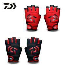 DAIWA fishing gloves outdoor breathable 5 fingers water-proof sport High Quality