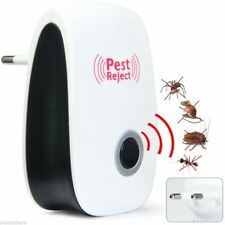 Electronic Ultrasonic Pest Reject Bug Mosquito Cockroach Mouse Killer Repeller O
