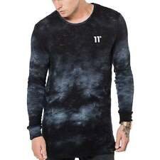 11 Degrees Composite Knitwear Tye Dye Black