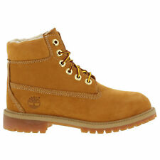 NEW TB0A13J5 Timberland Boys' 6-inch Classic Warm Shearling (GS) Boot!! WHEAT