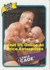 WWE Topps Heritage III 2007 Wrestling Trading Card #13 Lance Cade wwf wcw