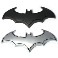 1PC 3D Cool Metal Bat man Auto Car Logo Cartoon Sticker Badge Emblem Tail Decal