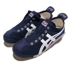 Asics Onitsuka Tiger Mexico 66 Slip-On Peacoat White Women Shoes D3K5N-5801