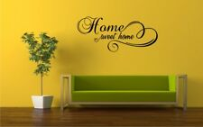 HOME SWEET HOME Wall Art Quote Removable Vinyl Decal Sticker HFAM_15