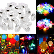 10pcs LED Light Bulb Balloon Lamp For Paper Lantern Christmas Wedding Party ON