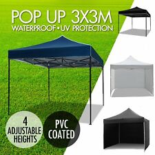 3x3M Gazebo Outdoor Pop Up Tent Folding Marquee Party Wedding Camping Canopy INO